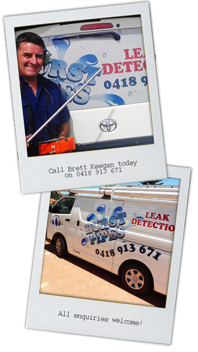 Brett Keegan, Leak Detection specialist - Perth Northern Suburbs